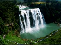 黄果树大瀑布、陡坡塘大瀑布、天星桥景园 豪华纯净一日游(含景区观光车)